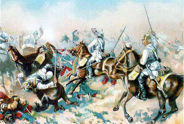 Rbb Preu 223 En Chronik Bild Die Schlacht Bei Sedan