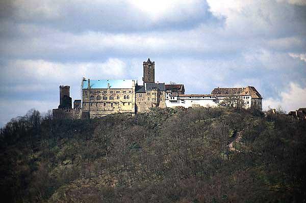 Rbb Preu 223 En Chronik Bild Die Wartburg In Eisenach