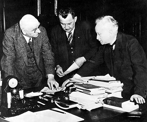 Otto Braun, Otto Wels, Carl Severing