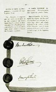 Rbb Preußen Chronik Im Versailler Vertrag Wird Preußen Wieder