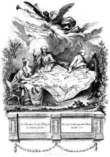 Die Lage des Königreichs Polen im Jahr 1773