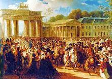 Napoleons Einzug in Berlin