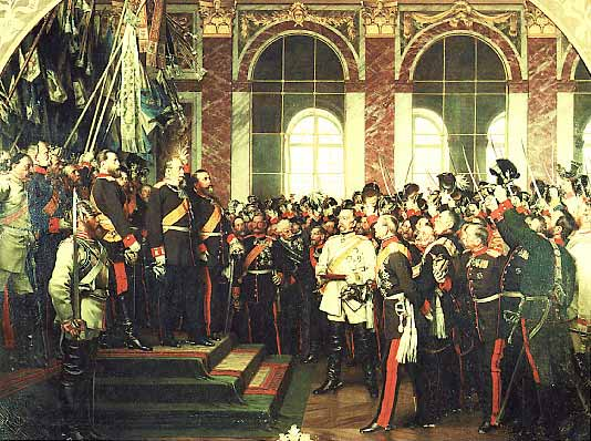 Rbb Preu 223 En Chronik Bild Die Kaiserproklamation