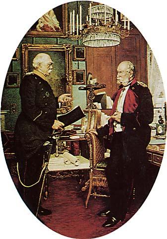 Fuerst Bismarck Bei Koenig Wilhelm I