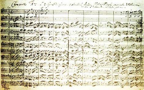 Brandenburgischen Konzerte