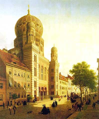 Rbb Preu 223 En Chronik Bild Die Neue Synagoge In Der